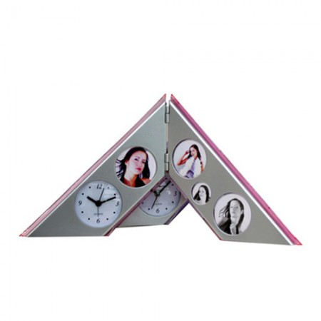 Giftsuncommon - Photo Frame With Table Clock